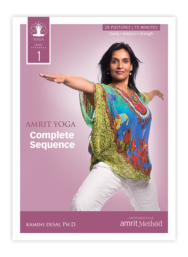Yoga - Amrit Yoga Complete Level 1 Sequence with Kamini Desai (DVD ...