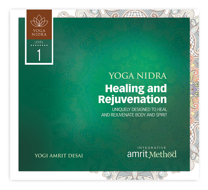 Yoga Nidra Healing And Rejuvenation With Yogi Amrit Desai CD Or Digital Download